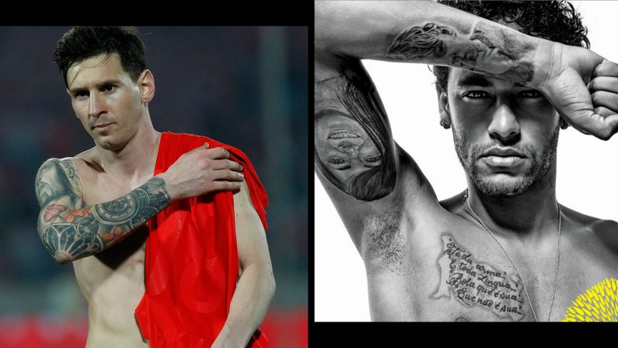 Here Are The Best FIFA World Cup 2018 Tattoos Neymar  Messi Tattoos