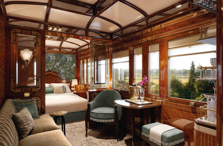 Classic Car Wallpaper For Bedrooms The Orient Express Inside The World S Most Glamorous Train