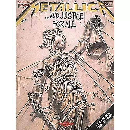 Hal Leonard Metallica    And Justice For All Guitar Tab Songbook