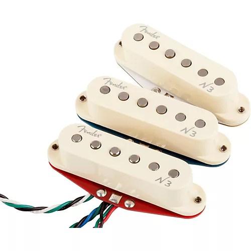 Fender Noiseless N3 Wiring Diagram - Somurich