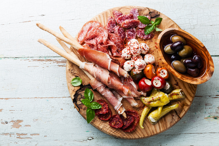 Italienische Ristorante Antipasto All'italiana | Ingredienti | Come Presentarlo