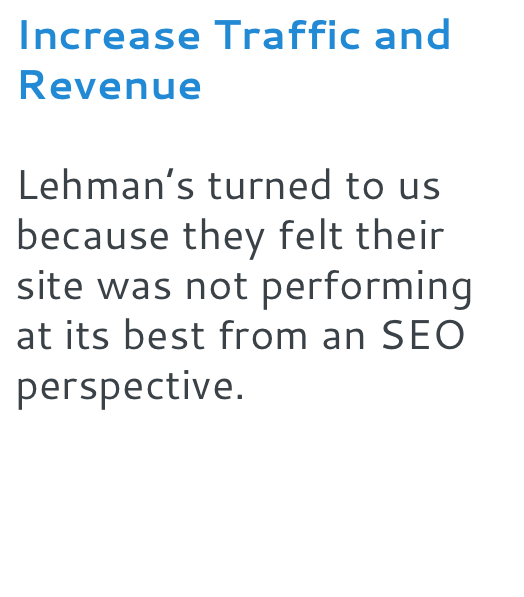 Increase Traffic and Revenue