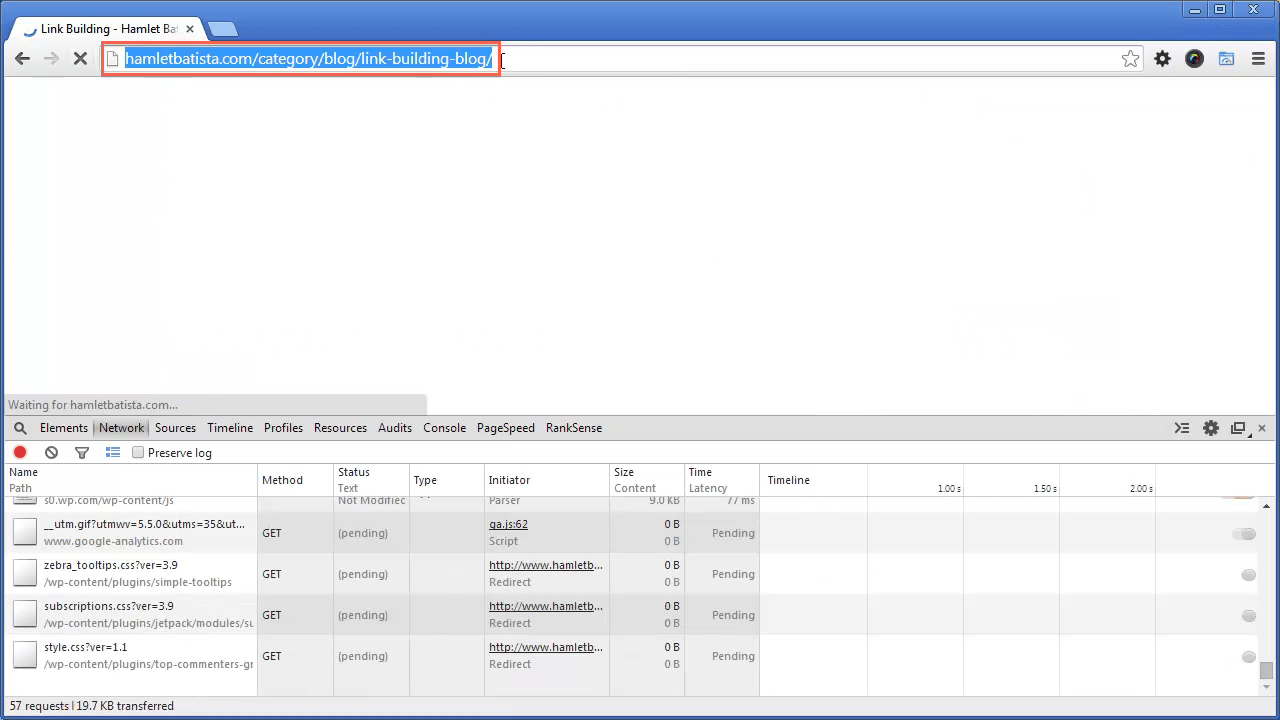 Redirect WWW to Non-WWW on Apache Step 17 - Notice URL