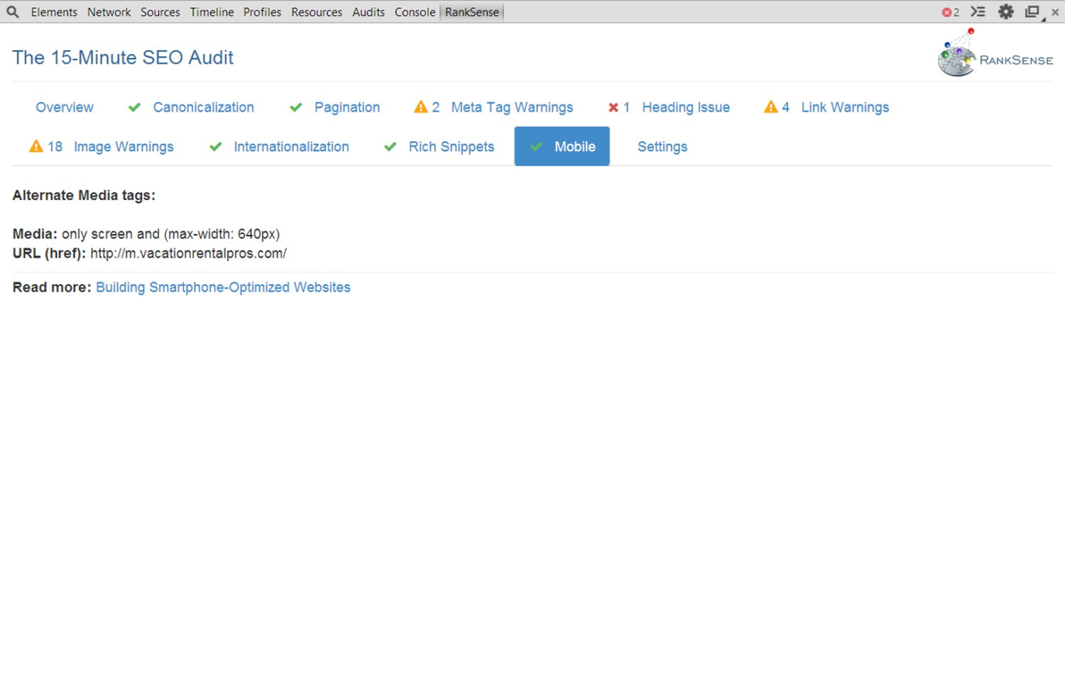 15 Minute SEO Audit Screenshot 8 Mobile