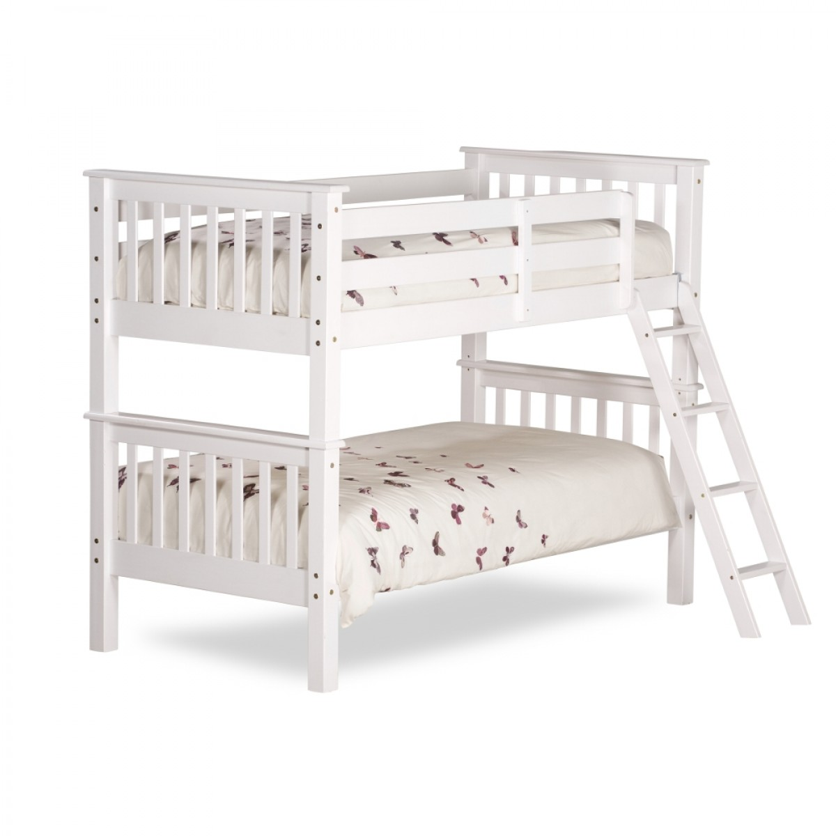 White Wooden Bunk Beds Oxford White Wooden Bunk Bed