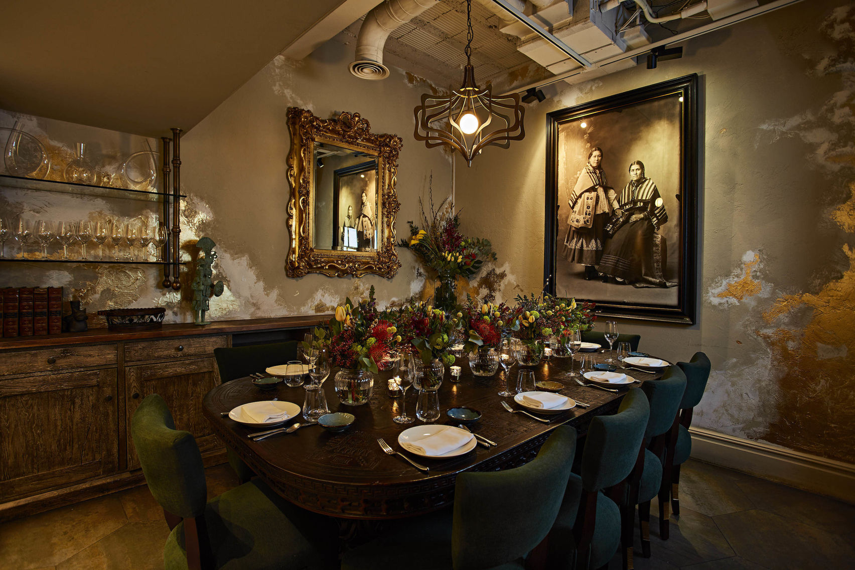 Book Private Dining Room Coya Mayfair London Headbox