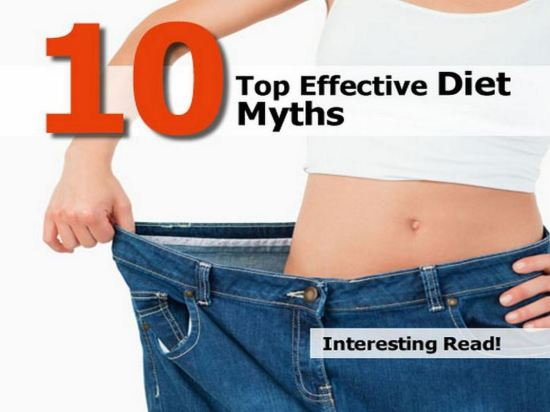 top-effective-diet-myths