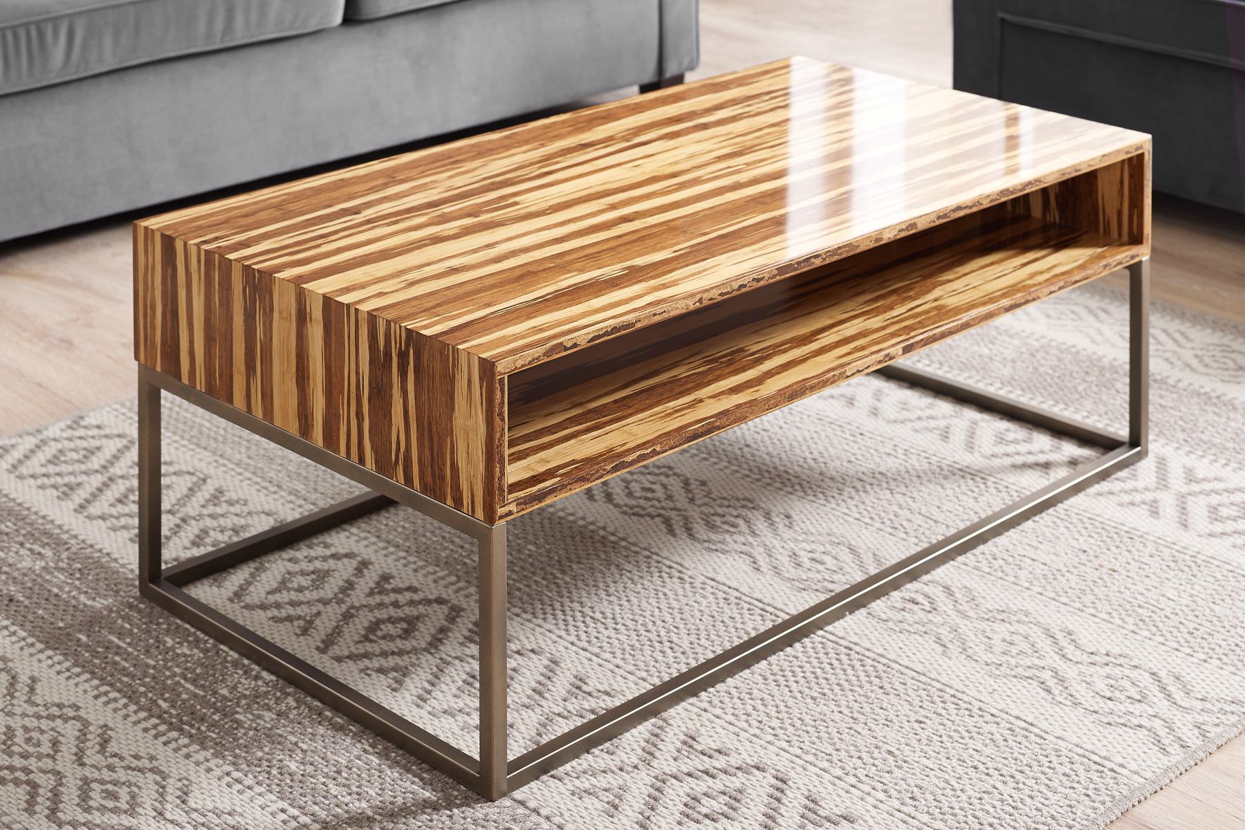 Coffee Tables Toronto Toronto Solid Bamboo Coffee Table Compass Modern