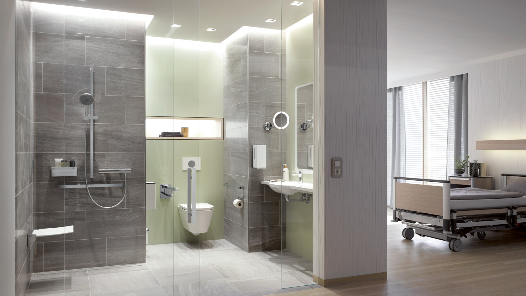 Badezimmer Traps Hewi System Solutions For Bathrooms And Sanitary Rooms