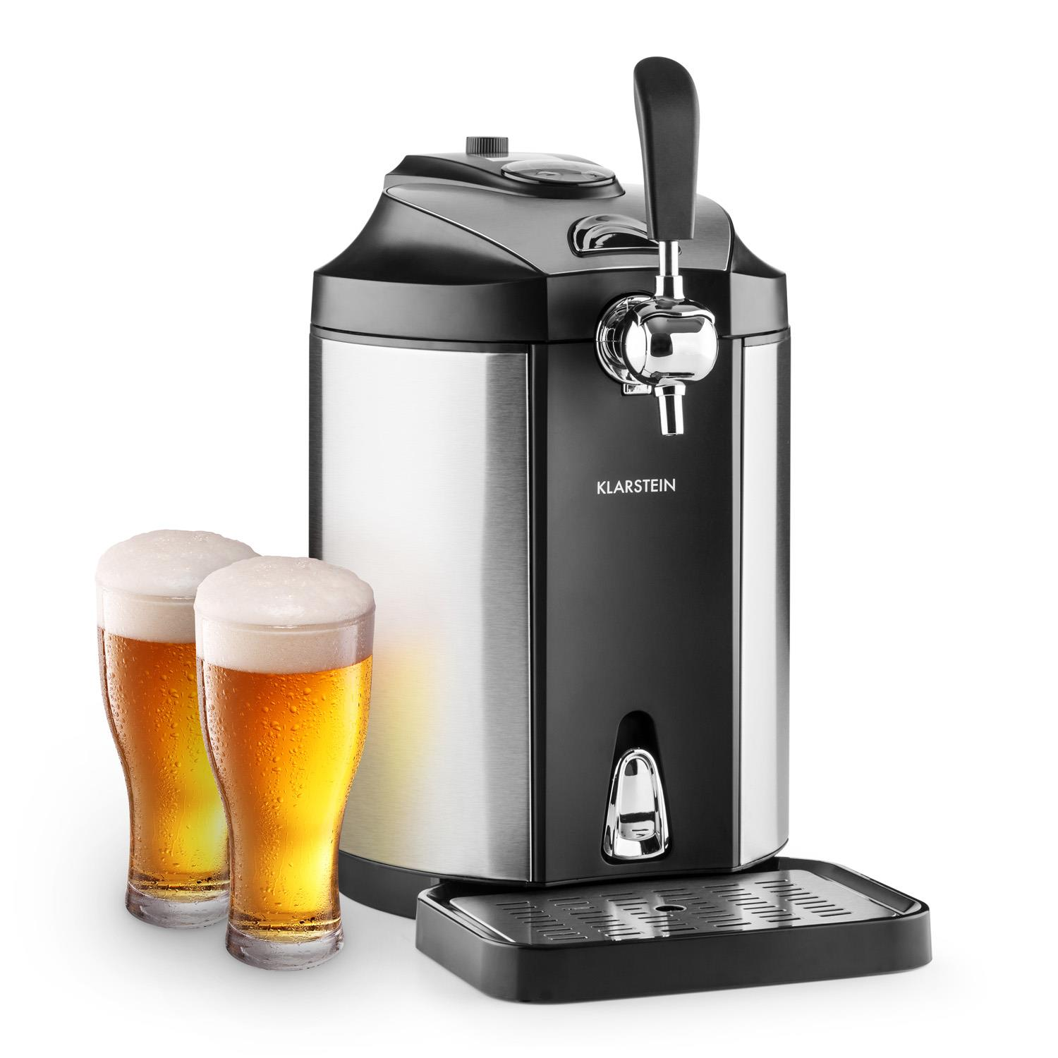 Countertop Beer Cooler And Tap Klarstein Skal Beer Tap Dispenser Beer Cooler 5 L Kegs Co2