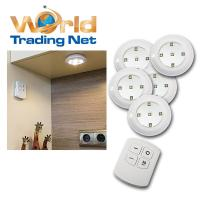 5 LED Unterbauleuchten warmwei Fernbedienung ...