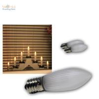 LED Lampe E10 Ersatz Glhbrine Glhlampe f Lichterbogen ...