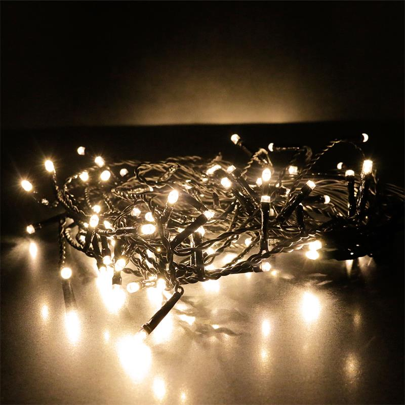 Led Ice Pellet Fairy Lights Ice Pellet Chain Lights - Aussen Lichterkette
