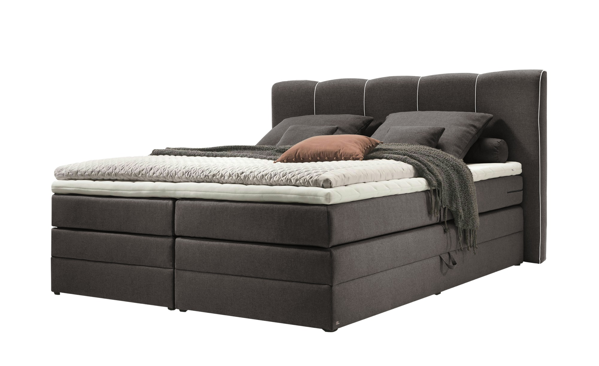 Musterring Schlafzimmer Höffner Set One By Musterring Boxspringbett 180x200 Anthrazit Memphis A Grau Maße Cm B 202 H 116 Betten Boxspringbetten Boxspringbetten Mit