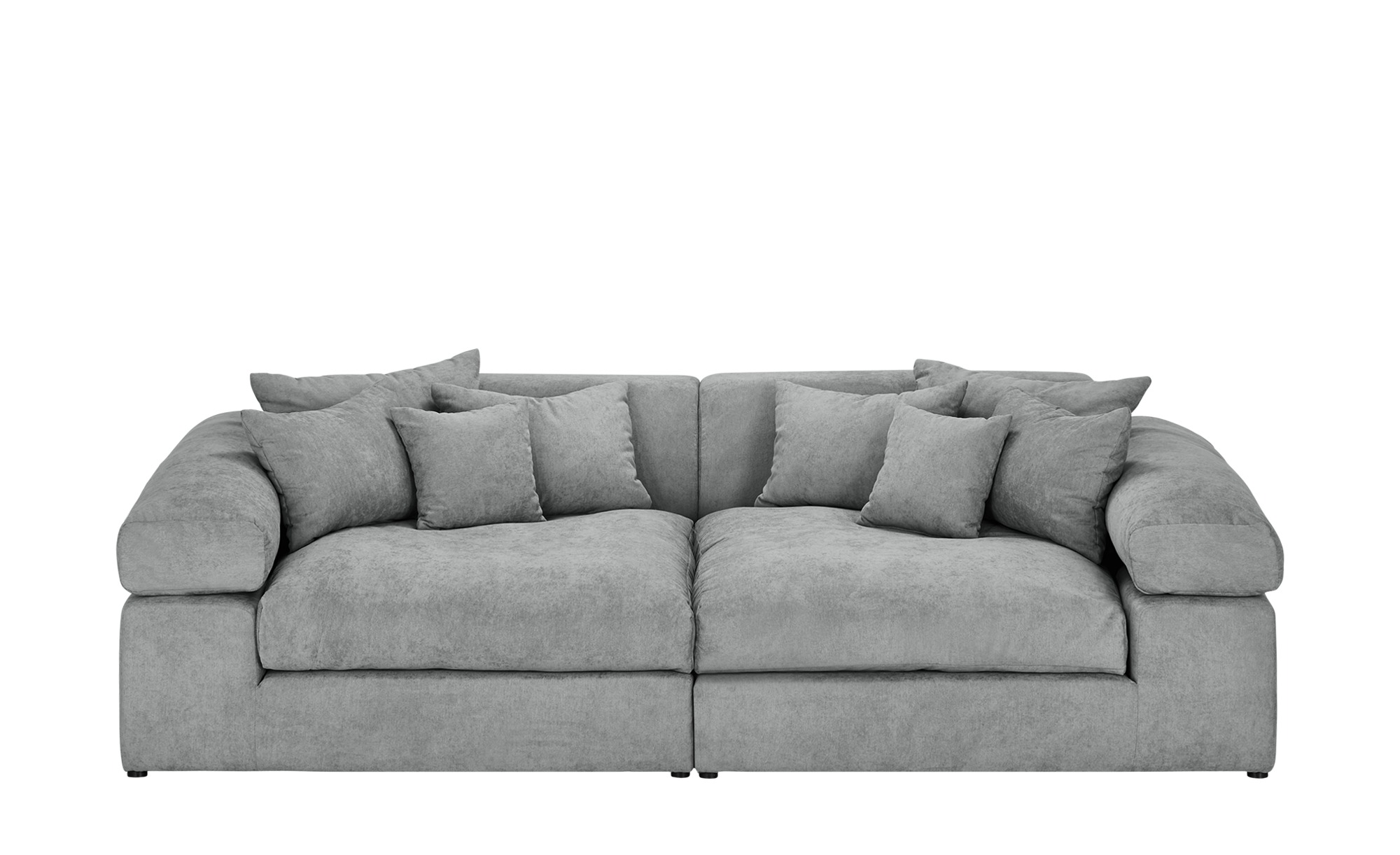 Big Sofa Ecksofa Smart Big Sofa Lianea | Silbergrau | Möbel Höffner