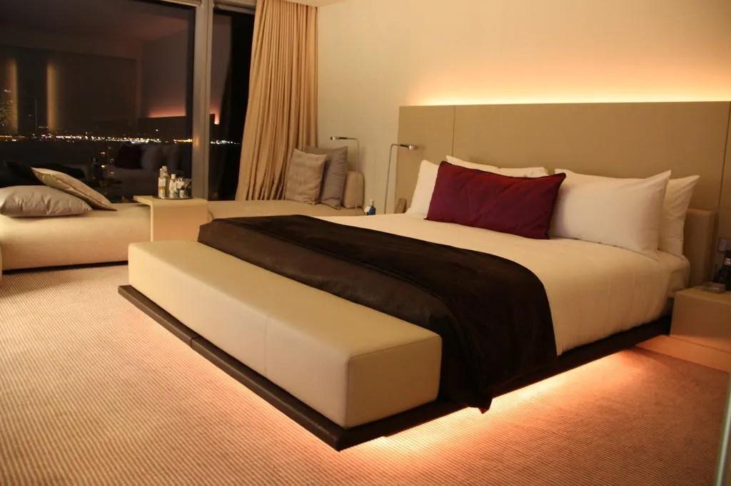 indirekte beleuchtung schlafzimmer led leisten idee living Led - beleuchtung für schlafzimmer