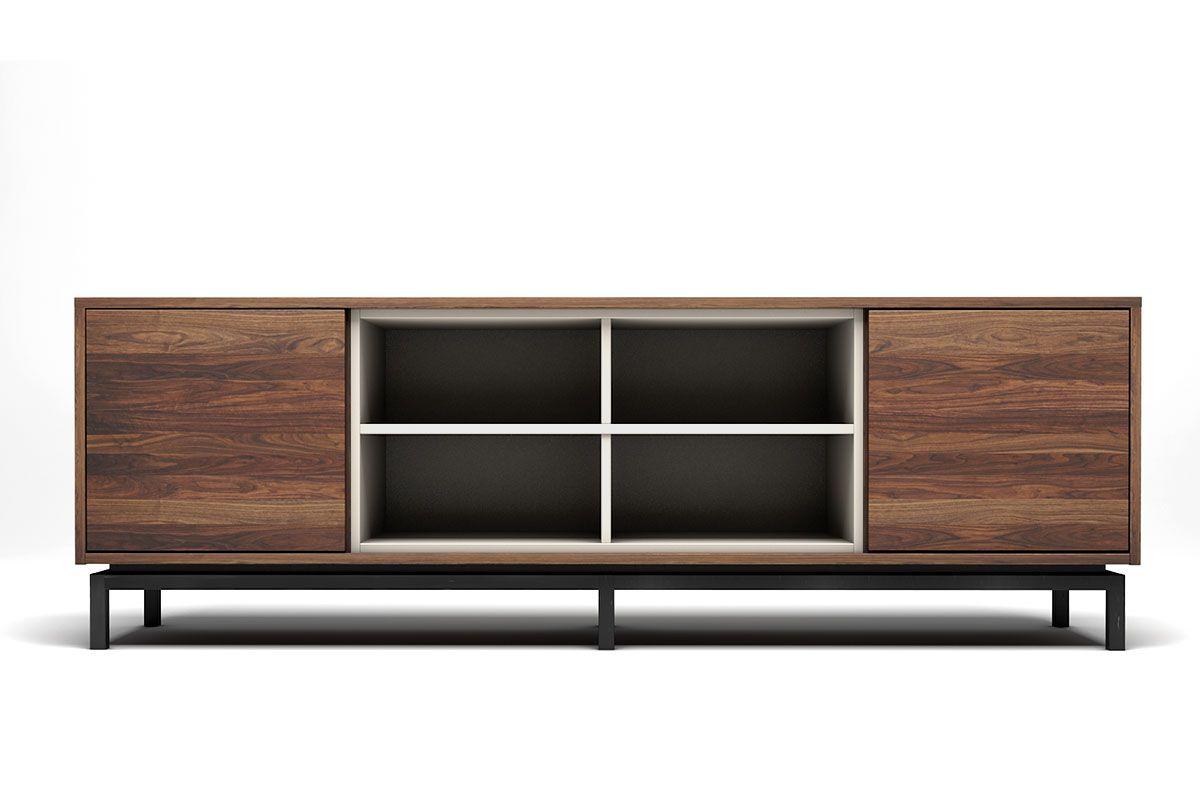 nussbaum massivholz sideboard 2 turen 4 facher modell cca