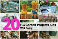 20 Fun Garden Projects Kids Will Enjoy