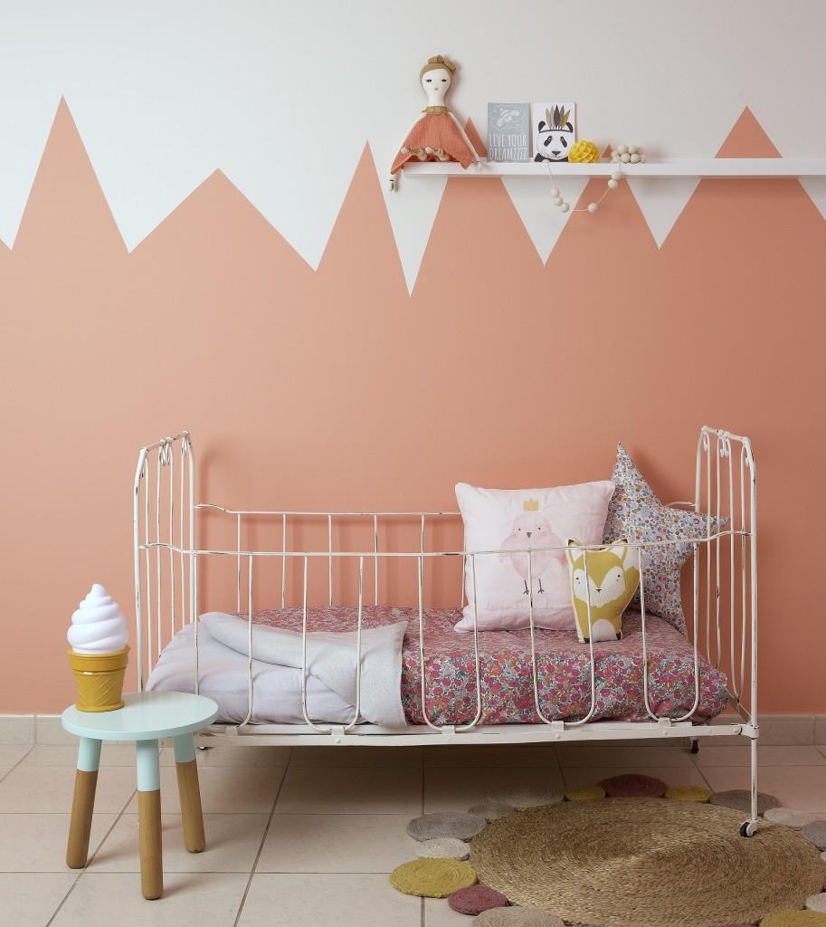 TRENDING: Half painted walls