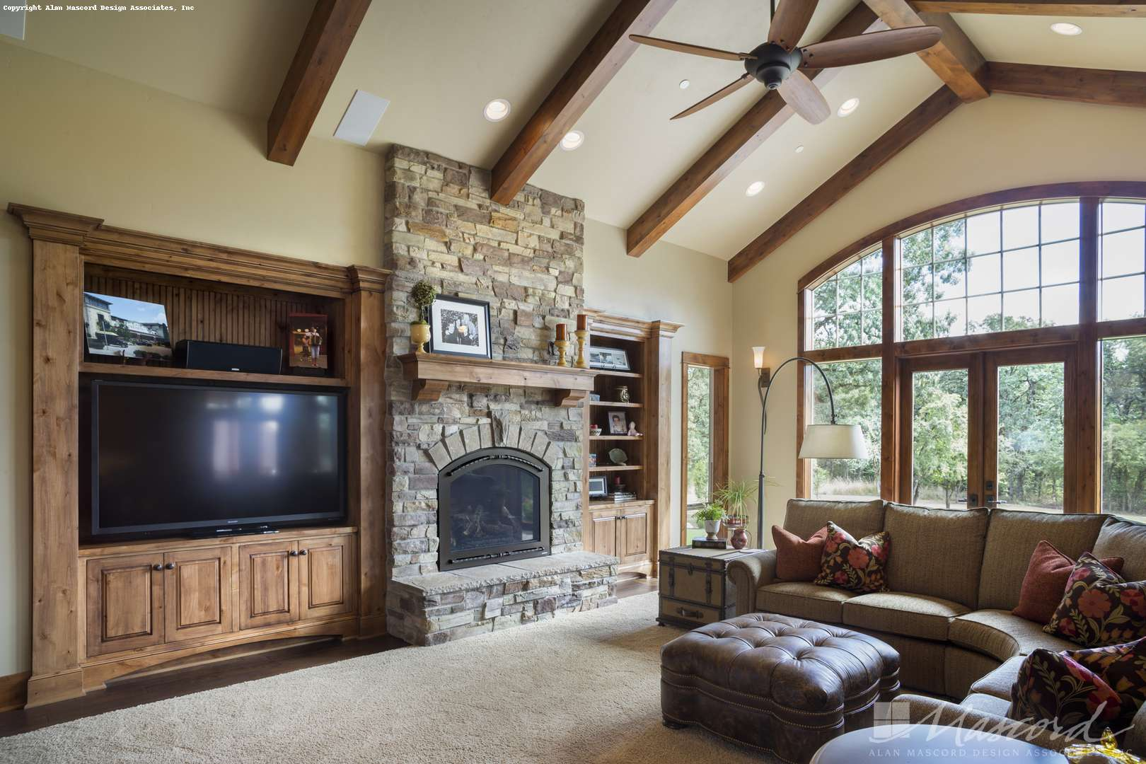 Living Room Vs Great Room Craftsman House Plan 1250 The Westfall 2910 Sqft 3 Beds 3 Baths