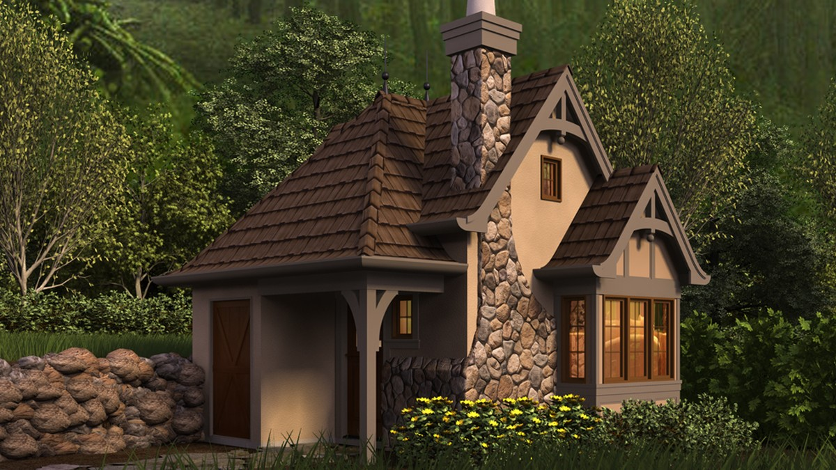storybook cottage house plans download