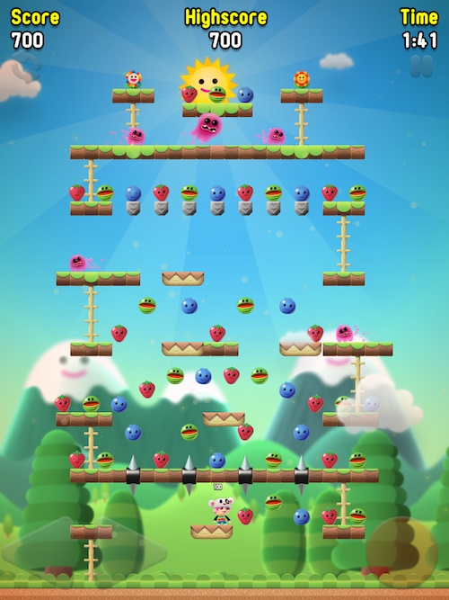 Cute Wallpapers Ipad App Apple Dash Hd Review Retro Platform Gaming Is A Hit On Ios