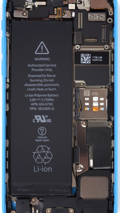 iFixit's internals-exposing wallpapers for the iPhone 5s/5c