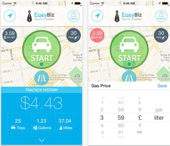 mileage expense tracker - Goalgoodwinmetals - business expense tracking app