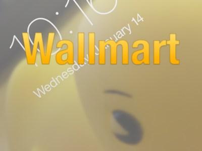 Wallmart allows you to cycle through wallpaper on iOS 8