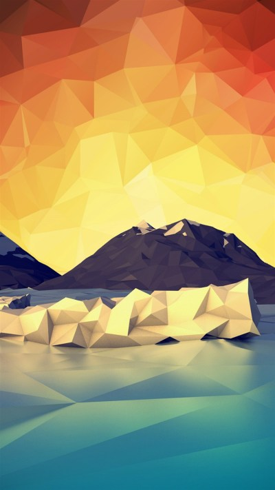 A beautiful collection of geometric wallpapers for iPhone