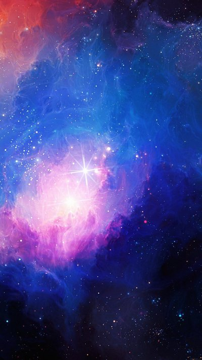 Gorgeous galaxy wallpapers for iPhone and iPad