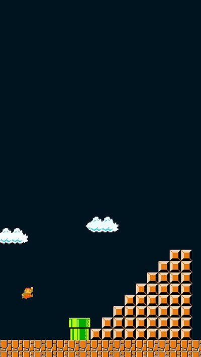 8-bit video game wallpapers for iPhone and iPad