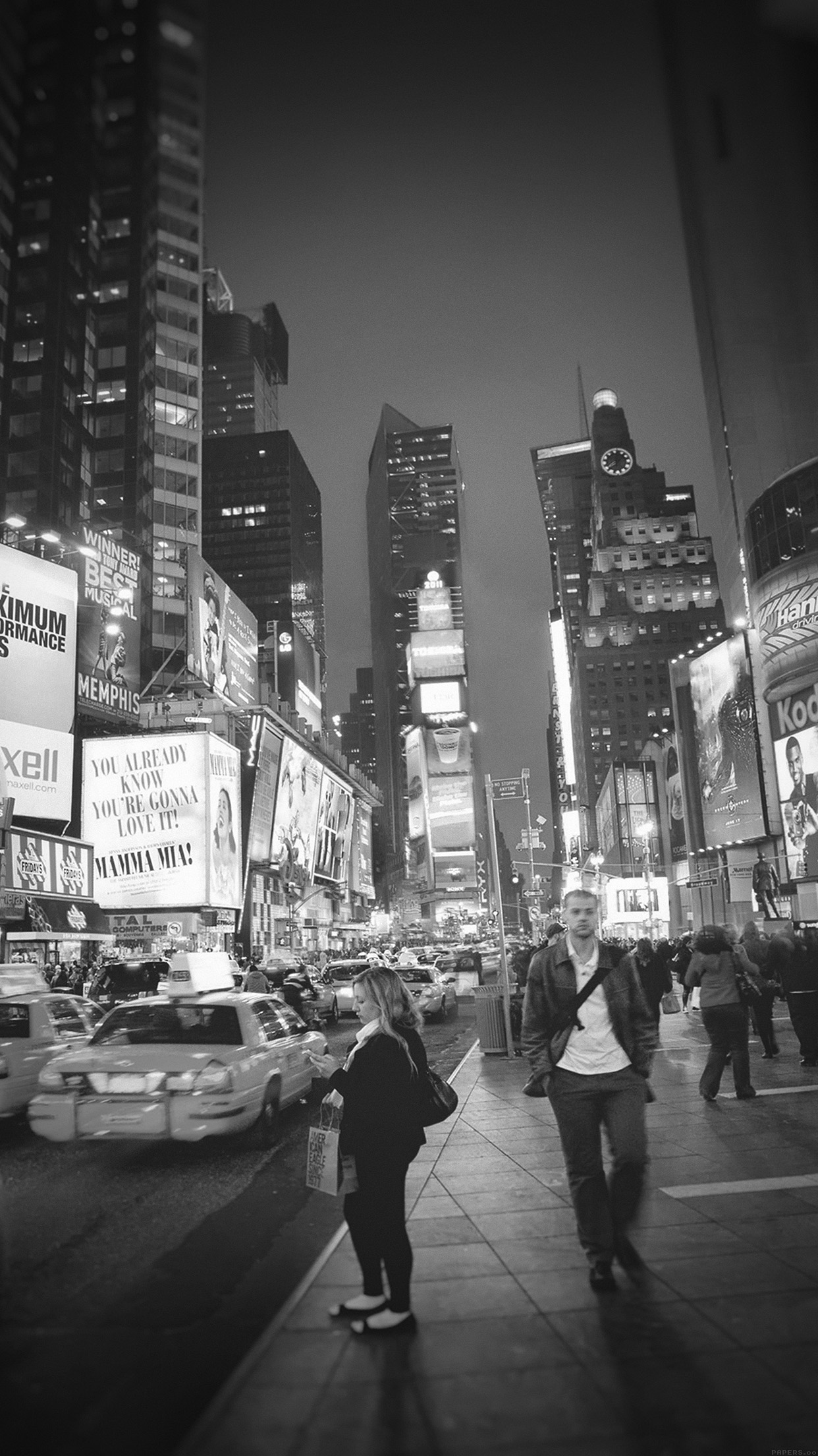 Times Square Iphone 6 Wallpaper Wallpapers Of The Week Urban Sprawl