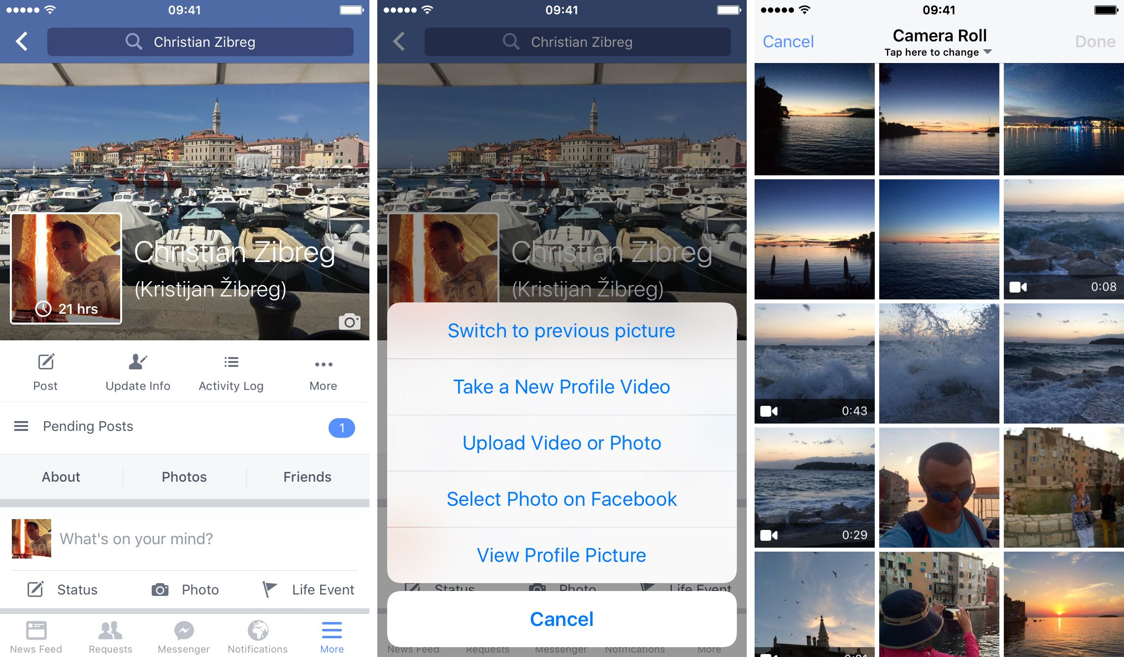 How To Make Facebook Profile Video Iphone Screenshot 001 Download How To  Make An App For