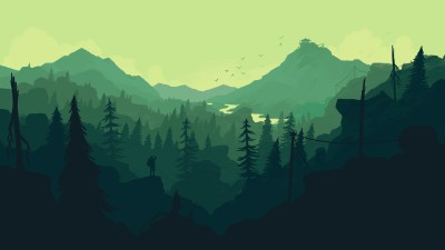 Firewatch wallpaper for iPhone and desktop