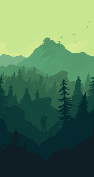 Firewatch wallpaper for iPhone and desktop
