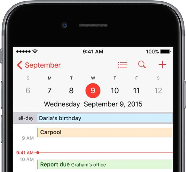 How to share iCloud calendars - school calendar creator