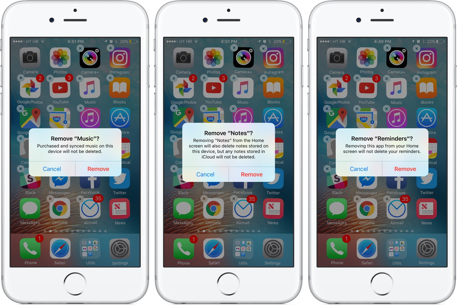 Ios 10 To The Fine Print Of Deleting Stock Apps On Ios 10