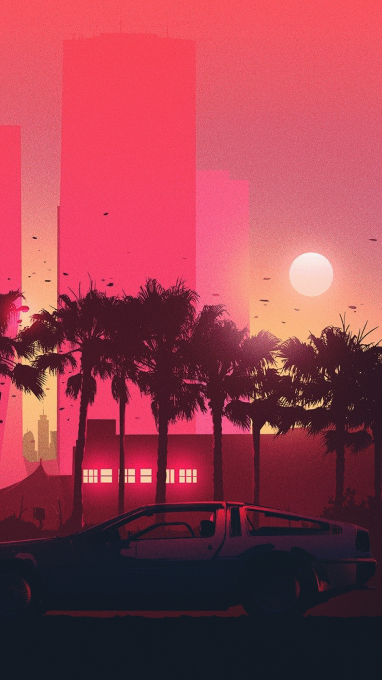 Hotline Miami Iphone Wallpaper Wallpapers Of The Week Minimal Scenery
