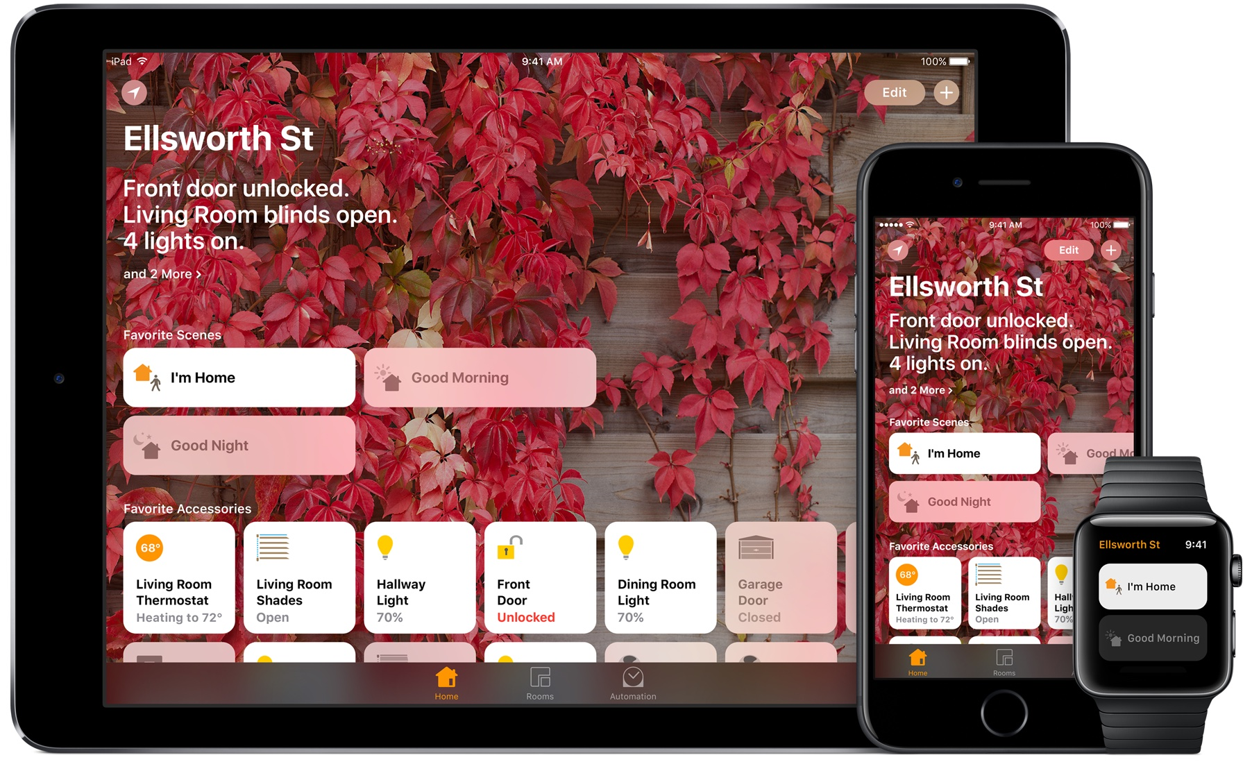 Homekit App Hands On With New Homekit Features In Ios 11
