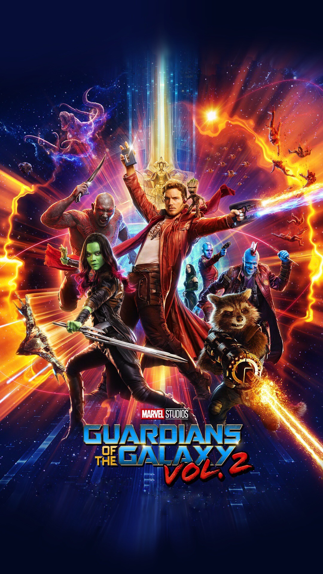 Iphone X Wallpaper Official Guardians Of The Galaxy Vol 2 Wallpapers