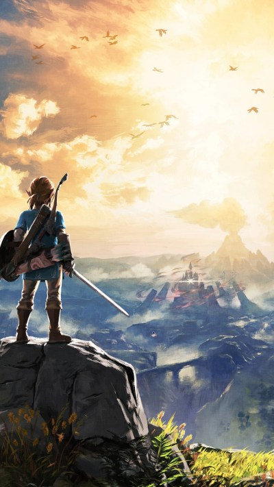Legend of Zelda: Breath of the Wild iPhone wallpapers