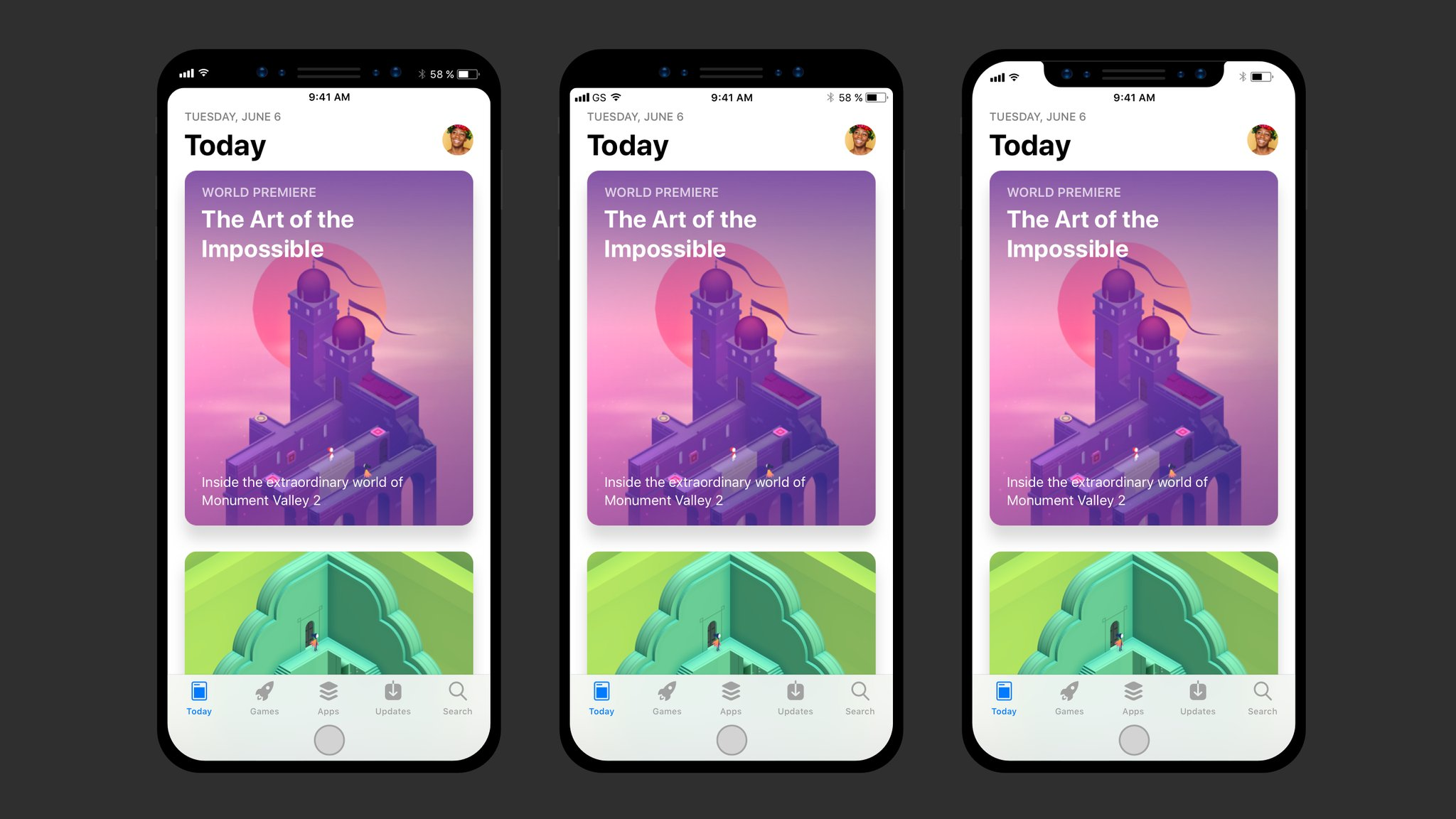 Iphone X Notch Wallpaper App Here S How Your Favorite Apps Might Embrace Iphone 8 S Notch