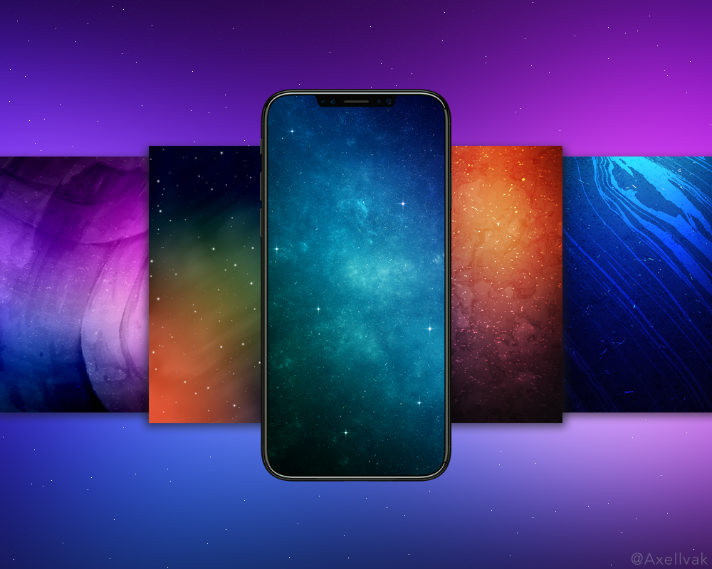 Notchless Wallpaper Iphone X Iphone X Wallpaper Pack 4