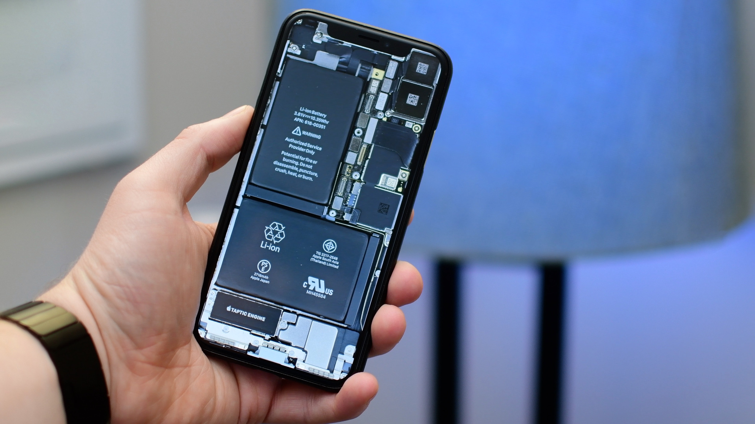 Iphone X Motherboard Wallpaper Iphone X Internals Wallpaper