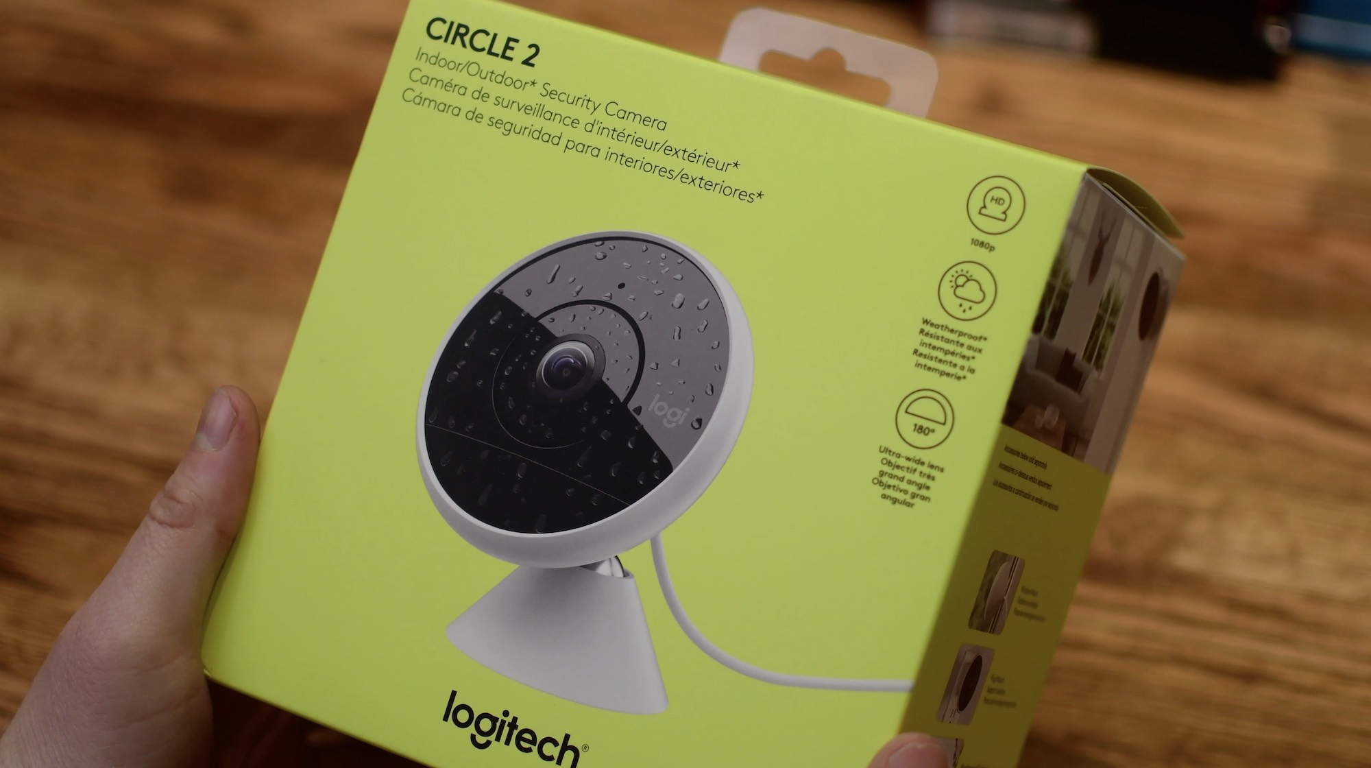Camera Exterieur New Deal The Logitech Circle 2 Home Security Camera Is The Best Homekit Cam