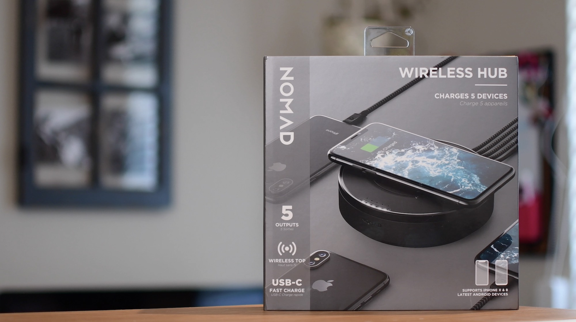 Qi Chargeur Nomad Wireless Hub Review