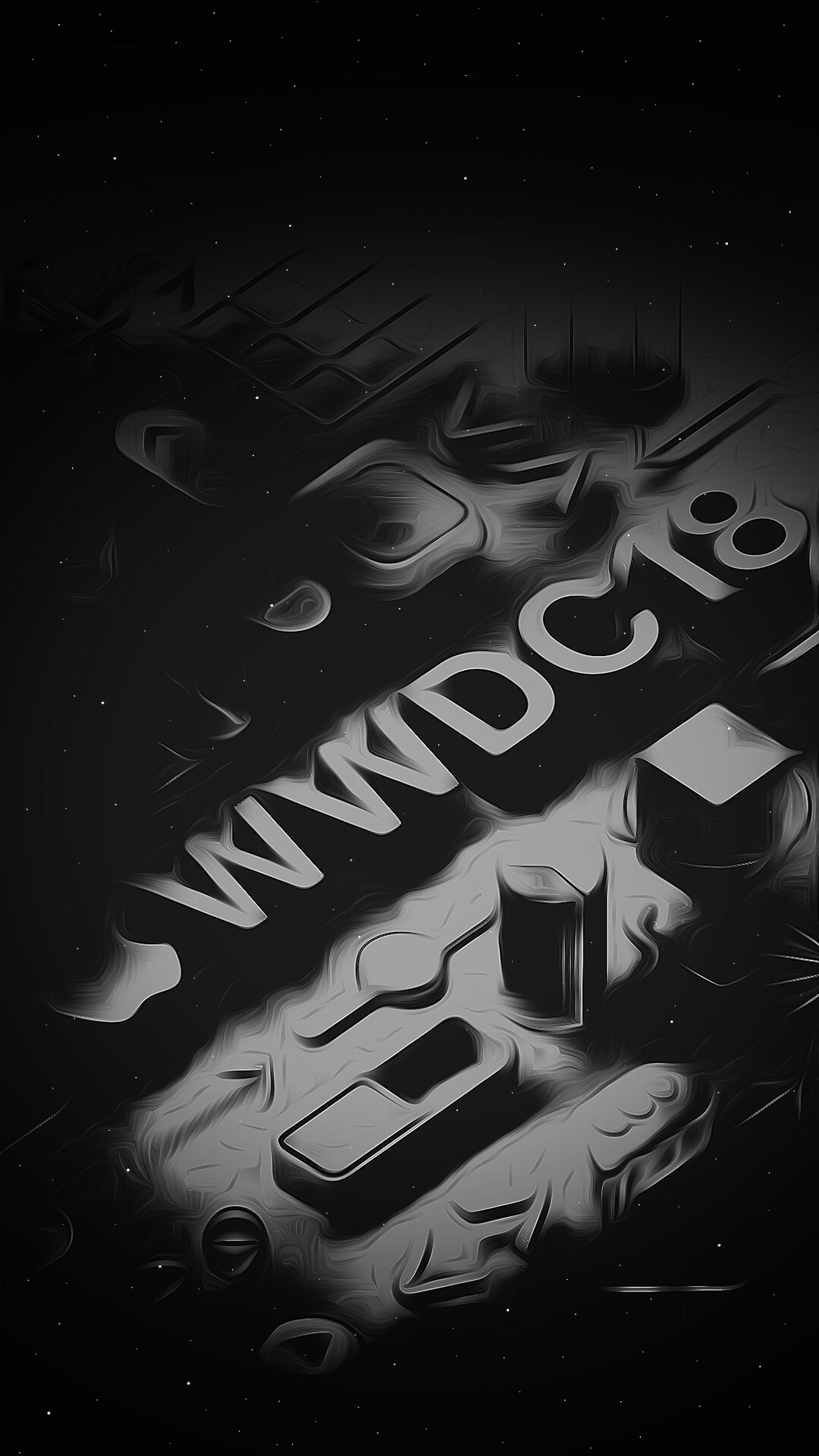 Black And White Wallpaper Designs Wwdc 2018 Iphone Wallpapers