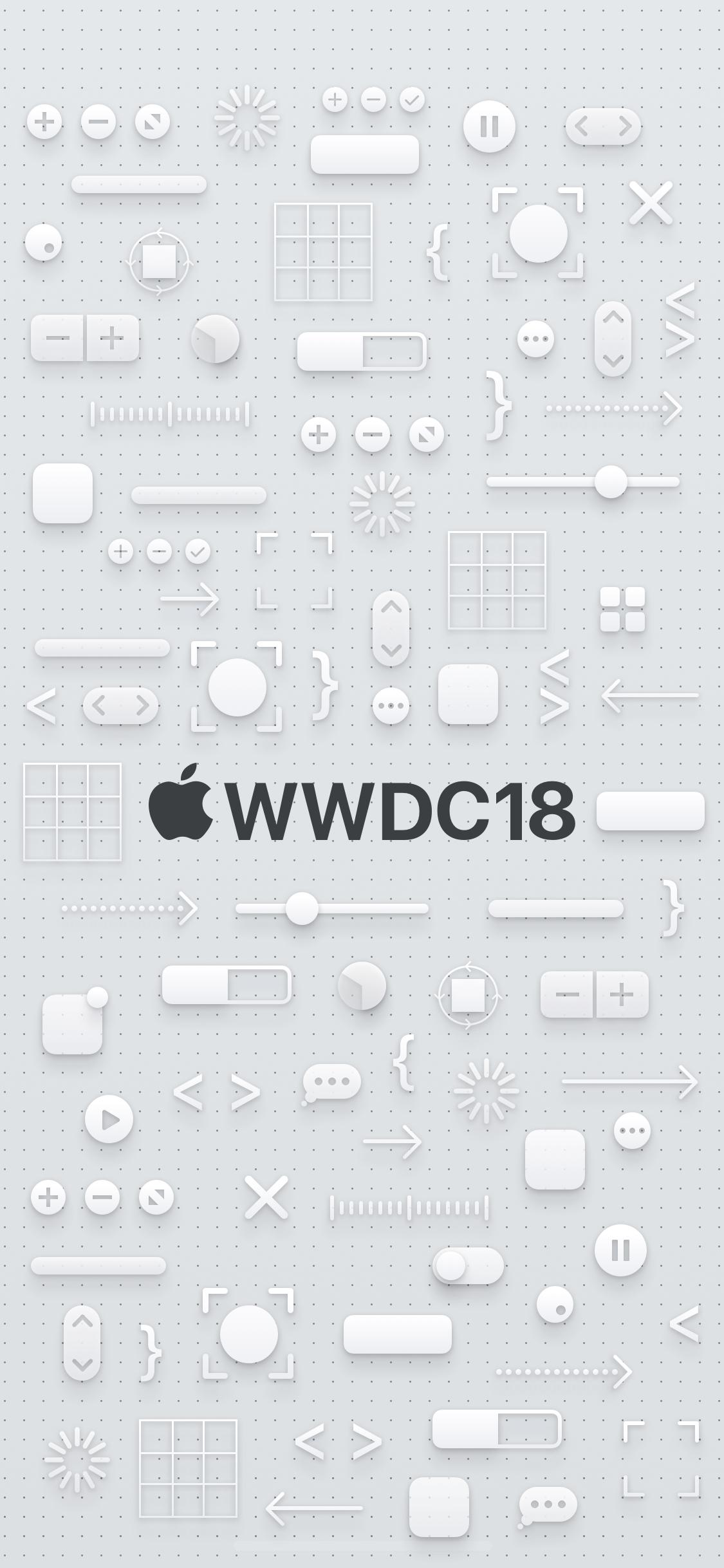 Download Wallpaper Apple Iphone แจกภาพพื้นหลัง Wallpaper ชุด Wwdc18 สำหรับ Iphone