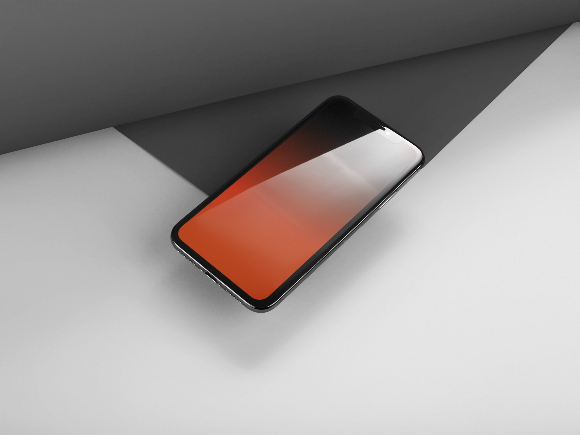Wallpaper Simple Unik Notchless Gradient Wallpapers For Iphone X